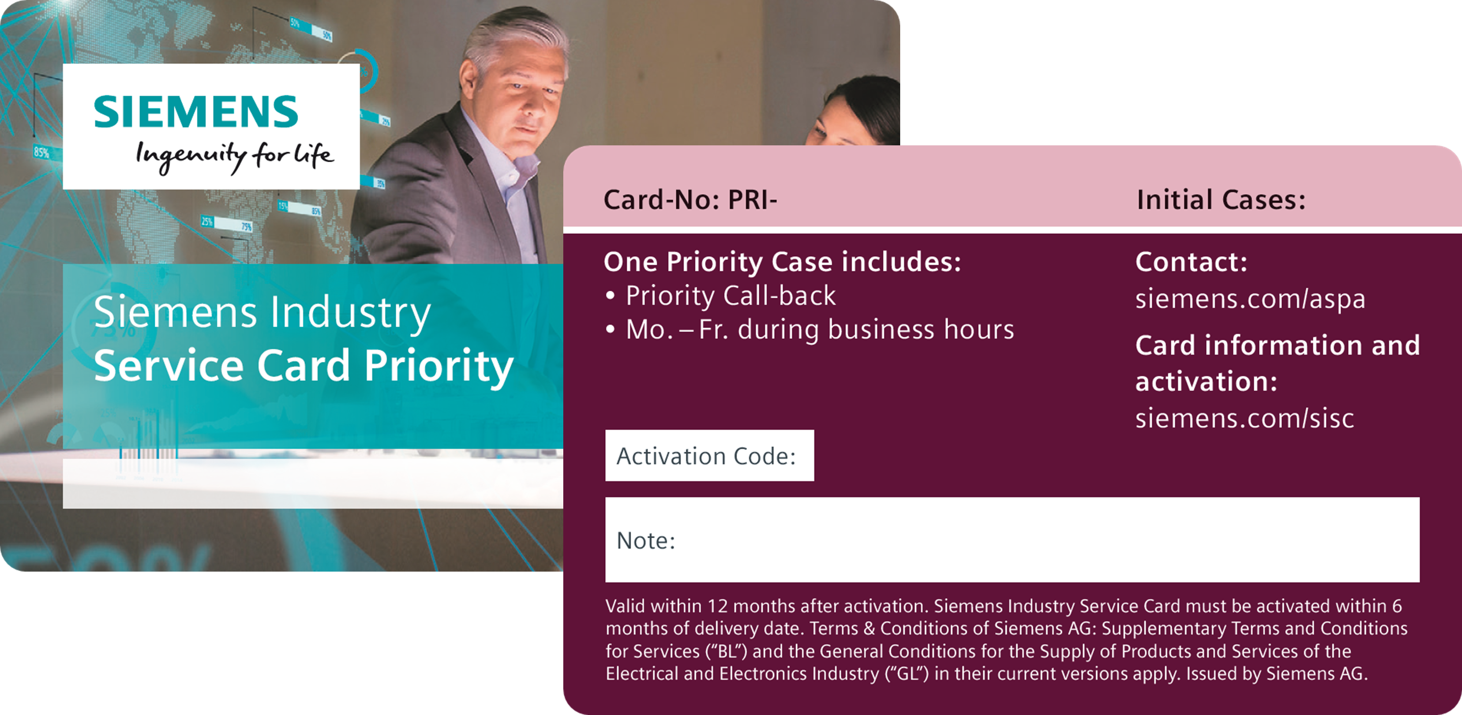 Service Card - Priority